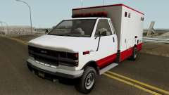 Brute Ambulance GTA 5 для GTA San Andreas