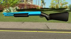 Chromegun Blue для GTA San Andreas