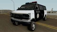 Police Transport Burrito GTA 5 для GTA San Andreas