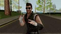 Undead Hunter Johnny Cage MKXM для GTA San Andreas