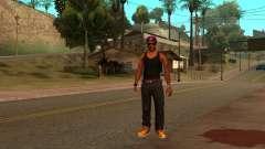 Участник 3 альянса Ballas для GTA San Andreas