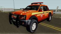 Mitsubishi L200 Brazilian Police для GTA San Andreas