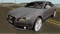 Audi S5 TR PLAKA 2008 для GTA San Andreas