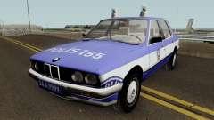 BMW 323i E30 Turkish Police Car для GTA San Andreas