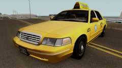 Ford Crown Victoria Taxi Downtown Cab v1.0 2003 для GTA San Andreas