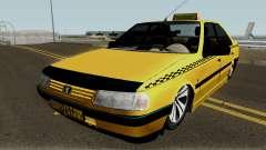 Peugeot 405 GLX Taxi Final v2 для GTA San Andreas
