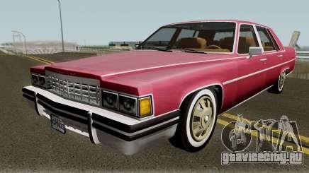 Cadillac Fleetwood Normal 1985 v1 для GTA San Andreas