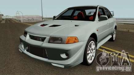 Mitsubishi Lancer Evolution VI HQ для GTA San Andreas