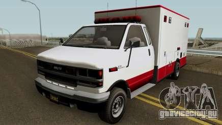 Brute Ambulance GTA 5 для GTA San Andreas