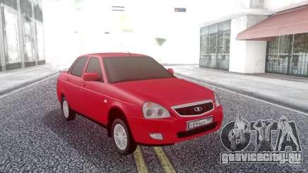 Lada Priora Red для GTA San Andreas