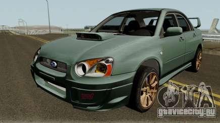Subaru Impreza WRX STI 2004 Stock IVF для GTA San Andreas