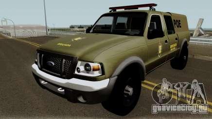Ford Ranger 2008 Police для GTA San Andreas