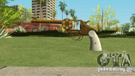 Double Action Revolver GTA 5 для GTA San Andreas