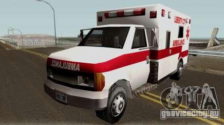 New Ambulance для GTA San Andreas