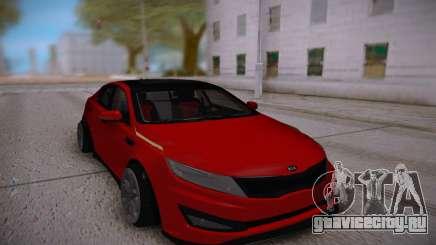 Kia Optima Red для GTA San Andreas