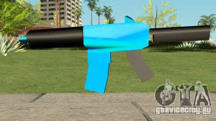 M4 Blue HQ для GTA San Andreas