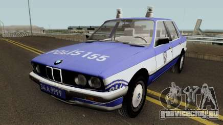 BMW 323i E30 Turkish Police Car для GTA San Andreas