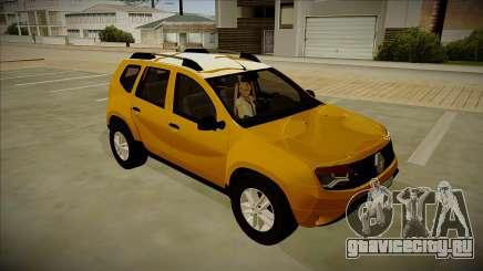 Renault Duster Stock для GTA San Andreas