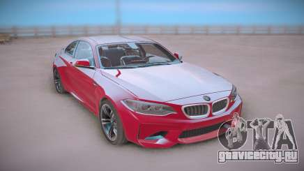 BMW M2 Red Coupe для GTA San Andreas