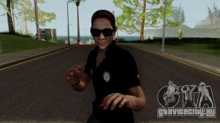 Skin Agent Policia Civil для GTA San Andreas