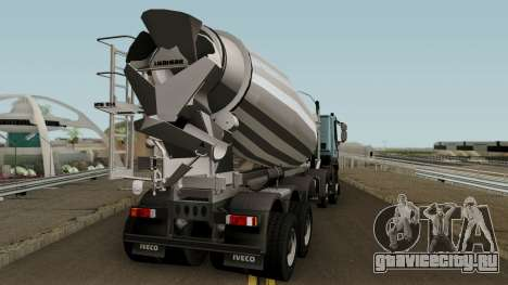 Iveco Trakker Cement 10x6 для GTA San Andreas вид справа
