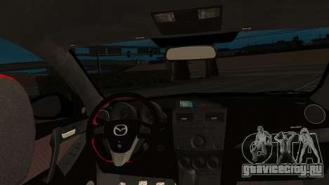 Mazda 3 MPS для GTA San Andreas