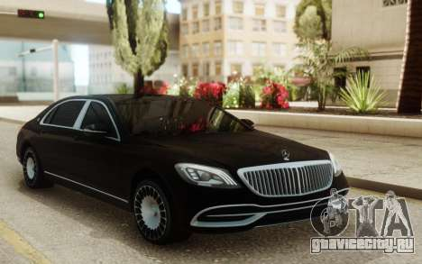 Mercedes-Maybach W222 для GTA San Andreas
