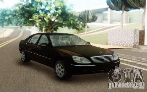 Mercedes-Benz S600 W220 для GTA San Andreas