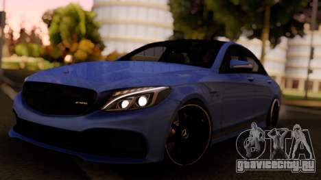 Mercedes-Benz C63S Sedan для GTA San Andreas