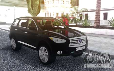 Infiniti JX 35 2013 Lifted для GTA San Andreas