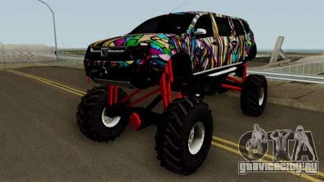 Dacia Duster Limo Monster 2013 для GTA San Andreas