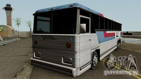 Beta Bus Dashound для GTA San Andreas