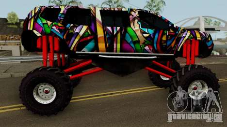 Dacia Duster Limo Monster 2013 для GTA San Andreas