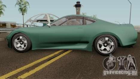 Dinka Jester Classic GTA V для GTA San Andreas вид слева