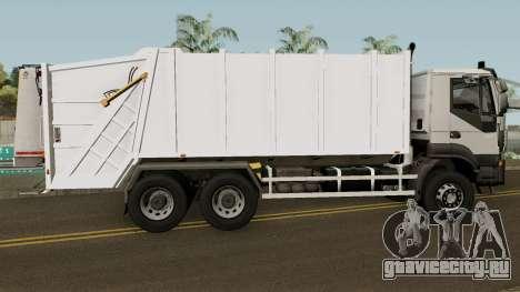 Iveco Trakker Garbage 6x4 для GTA San Andreas