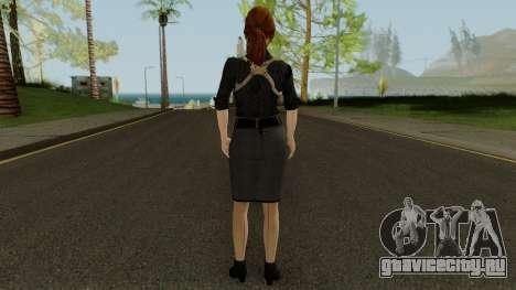 Anna Grimsdottir Blacklist Skin для GTA San Andreas третий скриншот