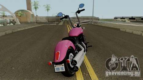 Indian Scout Sixty 2018 для GTA San Andreas