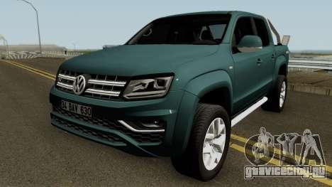 Volkswagen Amarok V6 Aventura 2018 для GTA San Andreas