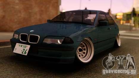 BMW 3-er E46 Sedan для GTA San Andreas