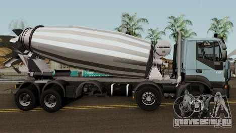Iveco Trakker Cement 10x6 для GTA San Andreas вид сзади
