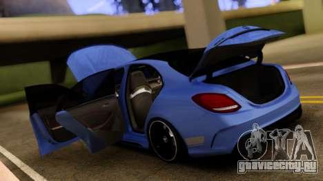Mercedes-Benz C63S для GTA San Andreas