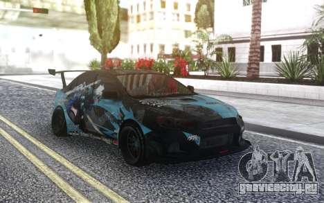 Mitsubishi Lancer X Tuned для GTA San Andreas