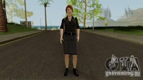 Anna Grimsdottir Blacklist Skin для GTA San Andreas второй скриншот