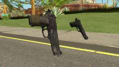 Beretta M9 (Normal Map) для GTA San Andreas