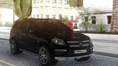 Mercedes-Benz GL63 Black для GTA San Andreas