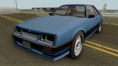 Vapid Uranus (Lozspeed) GTA IV для GTA San Andreas
