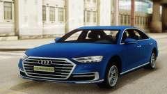 Audi A8 Sedan 2018 для GTA San Andreas