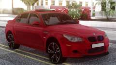 BMW M5 E60 Red для GTA San Andreas