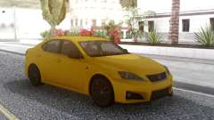 Lexus IS F 2008 для GTA San Andreas