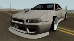Nissan Skyline GT-R Mk.X Widebody (R34) для GTA San Andreas